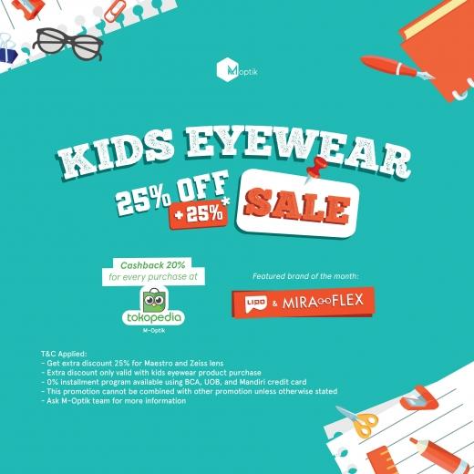 Kids Eyewear Sale 25%+25%*