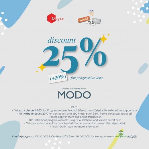 World Sight Day Sale 25% +20%